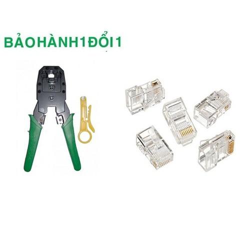 Kìm bấm đầu dây mạng Lan RJ 45 với thiết kế dễ cầm và dễ dàng sử dụng - 4649904 , 14113274 , 15_14113274 , 89000 , Kim-bam-dau-day-mang-Lan-RJ-45-voi-thiet-ke-de-cam-va-de-dang-su-dung-15_14113274 , sendo.vn , Kìm bấm đầu dây mạng Lan RJ 45 với thiết kế dễ cầm và dễ dàng sử dụng