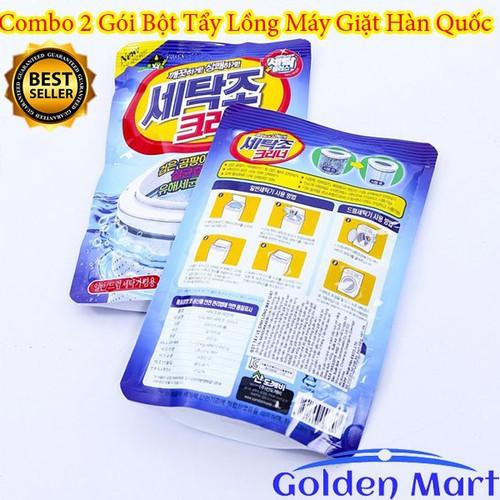 Combo 2 Gói bột tẩy vệ sinh lồng máy giặt 450g - Nhập khẩu Hàn Quốc - 7107379 , 13836025 , 15_13836025 , 42000 , Combo-2-Goi-bot-tay-ve-sinh-long-may-giat-450g-Nhap-khau-Han-Quoc-15_13836025 , sendo.vn , Combo 2 Gói bột tẩy vệ sinh lồng máy giặt 450g - Nhập khẩu Hàn Quốc