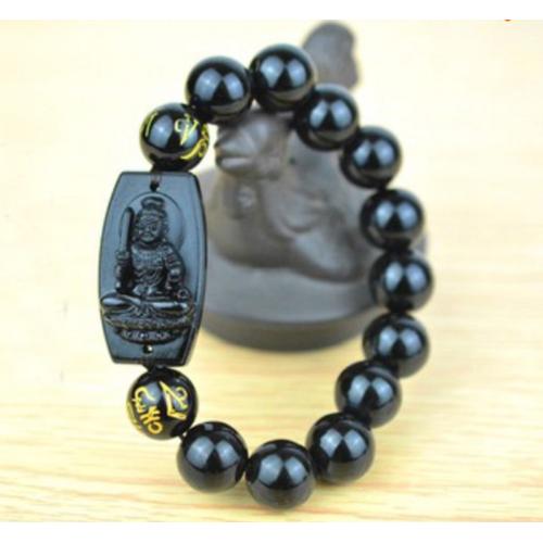 Vòng Tay Phật Bất Động Minh Vương 10ly - Phật bản mệnh tuổi Dậu