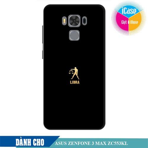 Ốp lưng nhựa dẻo dành cho Asus Zenfone 3 Max ZC553KL in hình Cung Thiên Bình