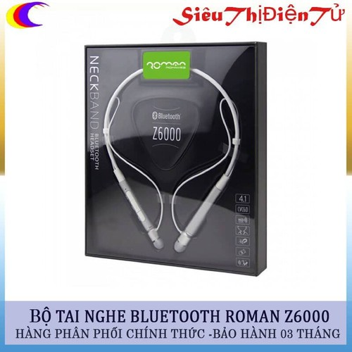 Tai nghe bluetooth roman z6000 dòng tai nghe thể thao kiểm đeo cổ - tai nghe chính hãng giá thành hợp lý - 20182338 , 14178042 , 15_14178042 , 550000 , Tai-nghe-bluetooth-roman-z6000-dong-tai-nghe-the-thao-kiem-deo-co-tai-nghe-chinh-hang-gia-thanh-hop-ly-15_14178042 , sendo.vn , Tai nghe bluetooth roman z6000 dòng tai nghe thể thao kiểm đeo cổ - tai nghe