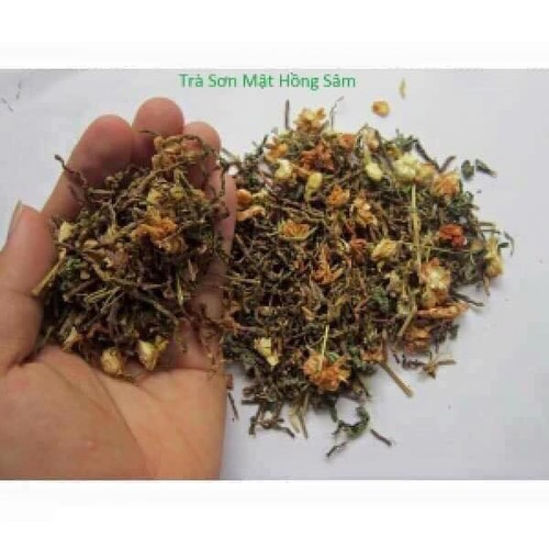 0,5kg trà sơn mật hồng sâm đặc trị mất ngủ, giải nhiệt, đặc sản số 1 tây bắc