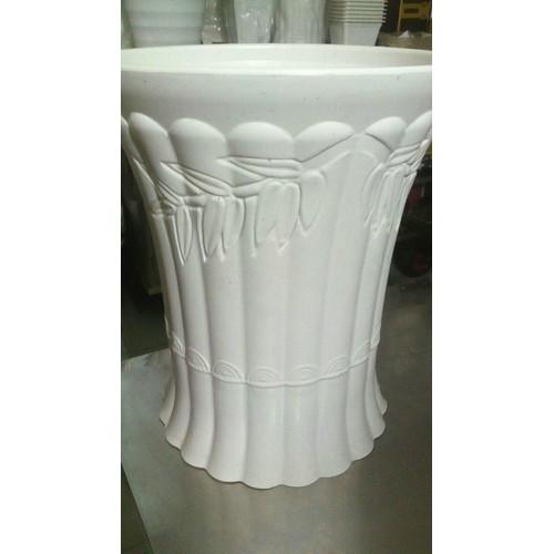 Chậu Nhựa Ống Trúc Dáng Đứng-Loại Trung-Cao40Cm-Rộng33Cm