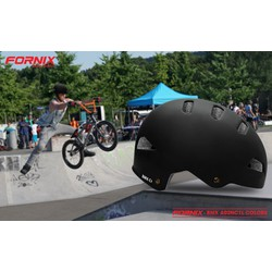Nón bảo hiểm thể thao BMX C1 - Đen trơn