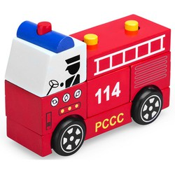 Lắp ráp xe cứu hỏa Winwintoys 61292