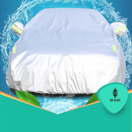 Bạt phủ xe hơi, áo trùm xe hơi, che xe ôtô 4 chỗ đến 7 chỗ gấp xếp gọn gàng, lớp bạc phản quang chống nóng, mưa, vải dù Polyester Oxford Fabric cao cấp - 10993429 , 14189045 , 15_14189045 , 529000 , Bat-phu-xe-hoi-ao-trum-xe-hoi-che-xe-oto-4-cho-den-7-cho-gap-xep-gon-gang-lop-bac-phan-quang-chong-nong-mua-vai-du-Polyester-Oxford-Fabric-cao-cap-15_14189045 , sendo.vn , Bạt phủ xe hơi, áo trùm xe hơi, c