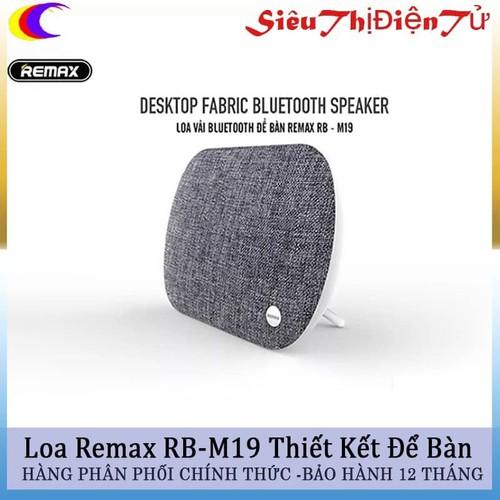Loa Vải Bluetooth Để Bàn Remax RB-M19 - 4659290 , 14188039 , 15_14188039 , 990000 , Loa-Vai-Bluetooth-De-Ban-Remax-RB-M19-15_14188039 , sendo.vn , Loa Vải Bluetooth Để Bàn Remax RB-M19