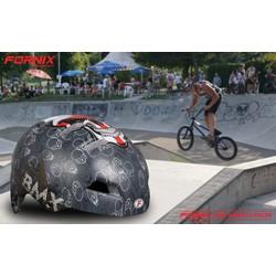 Nón bảo hiểm thể thao xám BMX Racer