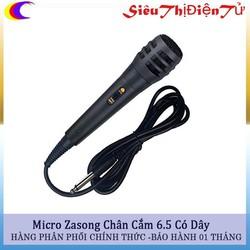 Mic hát karaoke đa năng có chân 6.5 hay micro đa năng