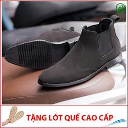 Giày Boot Nam - Giày Nam Giá Rẻ Cổ Chun | Đế Chắc Chắn, Thiết Kế Trẻ Trung, Sang Trọng - Hợp Thời Trang- Dễ Phối Với Nhiều Loại Trang Phục Khác Nhau, Đảm Bảo Chất Lượng Và Giá Tốt Nhận Hàng Thanh Toán Tiền- Ship Cod Toàn Quốc- Giày Nam- Cb520-Buck-Lq