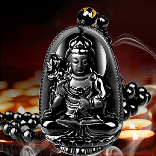 Dây Chuyền Phật Đại Thế Chí Bồ Tát - Phật Bản Mệnh Tuổi Ngọ - Vòng Cổ Phật - Chuỗi Hạt Phật