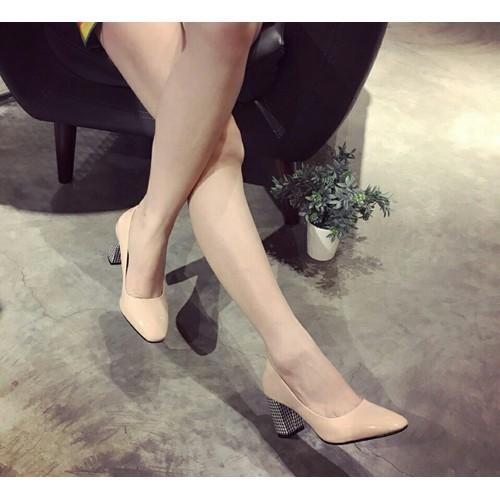 Giày cao gót bít mũi cao cấp - 10996420 , 14196007 , 15_14196007 , 310000 , Giay-cao-got-bit-mui-cao-cap-15_14196007 , sendo.vn , Giày cao gót bít mũi cao cấp