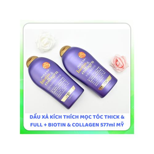 Dầu gội xả biotin collagen kích thích mọc tóc |dau xa biotin xuất xứ Mỹ 577ml - 10995798 , 14194447 , 15_14194447 , 250000 , Dau-goi-xa-biotin-collagen-kich-thich-moc-toc-dau-xa-biotin-xuat-xu-My-577ml-15_14194447 , sendo.vn , Dầu gội xả biotin collagen kích thích mọc tóc |dau xa biotin xuất xứ Mỹ 577ml