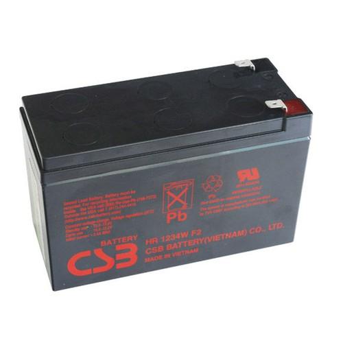 2 bình Ắc Quy Chì Khô Khí Kín CSB 12V-9Ah Cho Bộ Lưu Điện UPS