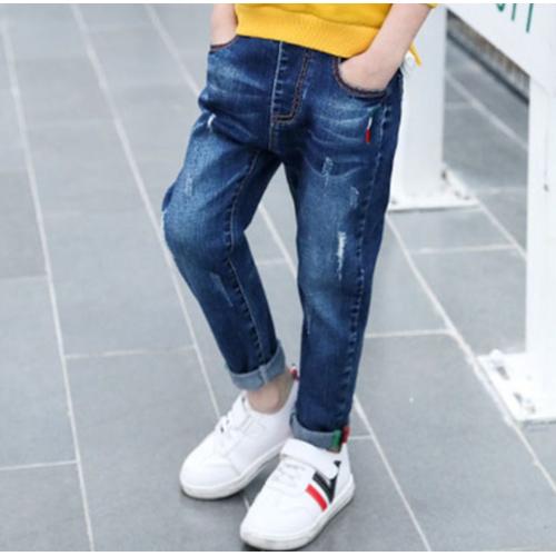 Quần jeans dài lưng thun cho bé trai - 7518600 , 14188802 , 15_14188802 , 200000 , Quan-jeans-dai-lung-thun-cho-be-trai-15_14188802 , sendo.vn , Quần jeans dài lưng thun cho bé trai