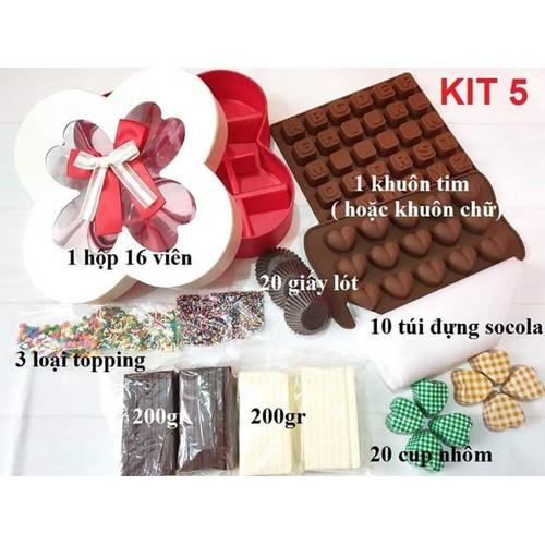 Bộ KIT 5 làm socola chocolate - 10998423 , 14200543 , 15_14200543 , 170000 , Bo-KIT-5-lam-socola-chocolate-15_14200543 , sendo.vn , Bộ KIT 5 làm socola chocolate
