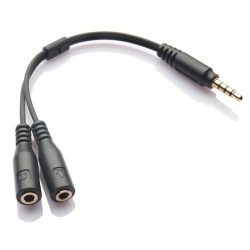 Cáp chia Audio 1 ra 2 chuẩn 3.5mm - JK230