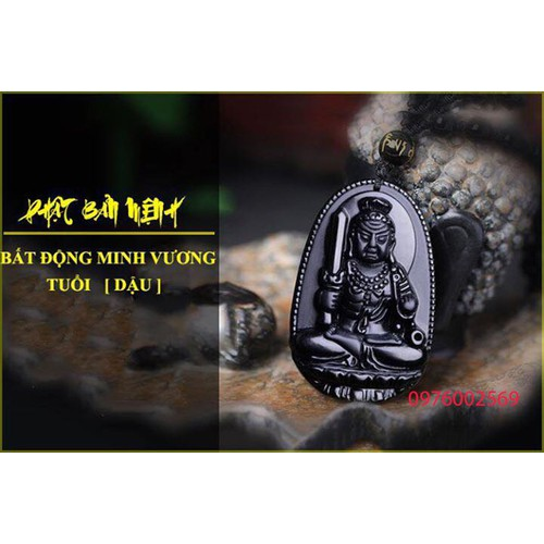 Dây Chuyền Bản Mệnh Phật Bất Động Minh Vương - Hợp Tuổi Dậu