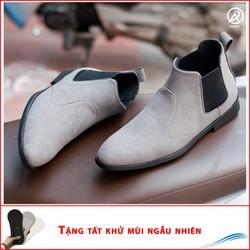 Giày Nam Đẹp - Giày Boot Nam Aroti Cổ Cao | Đế Chắc Chắn, Thiết Kế Trẻ Trung, Sang Trọng- Hợp Thời Trang - Dễ Phối Với Nhiều Loại Trang Phục Khác Nhau, Đảm Bảo Chất Lượng Và Giá Tốt Nhận Hàng Thanh Toán Tiền Ship Cod Toàn Quốc- Giày Nam - Cb520-Xam-T