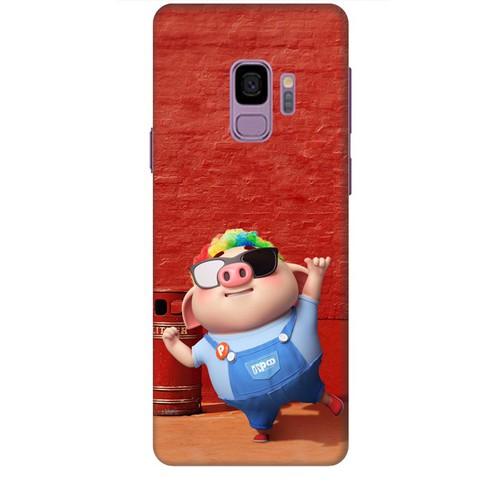 Ốp lưng nhựa dẻo dành cho Samsung Galaxy S9 in Heo Con Sành Điệu