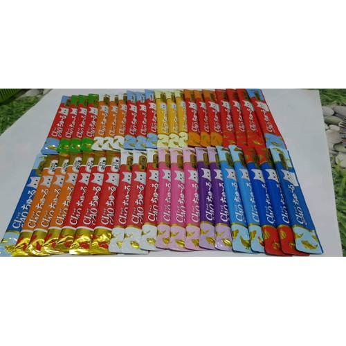 COMBO 40 thanh CIAO CHURU - Pate thưởng cho mèo mix vị - 11004129 , 14212893 , 15_14212893 , 315000 , COMBO-40-thanh-CIAO-CHURU-Pate-thuong-cho-meo-mix-vi-15_14212893 , sendo.vn , COMBO 40 thanh CIAO CHURU - Pate thưởng cho mèo mix vị