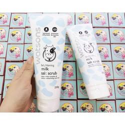 Tẩy Tế Bào Chết Watsons Brightening Milk Salt Scrub - ivyivy4733