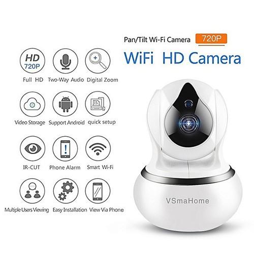 Camera Wifi  không dây VSmaHome bé bầu 1.0Mp