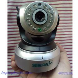 Smart Camera IP Wifi 1.3M Siepem S2018 P2PwifiCam   Camera giám sát kết nối wifi