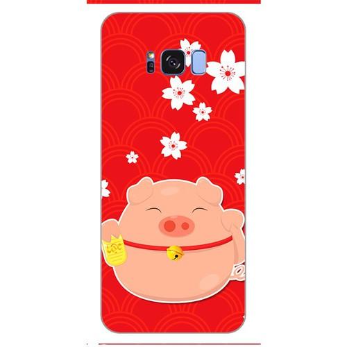 Ốp lưng điện thoại samsung galaxy s8 - Cute pig 02