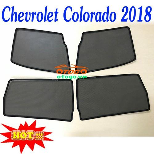 Rèm Che Nắng Kính Ô Tô Theo Xe - Chevrolet Colorado 2018