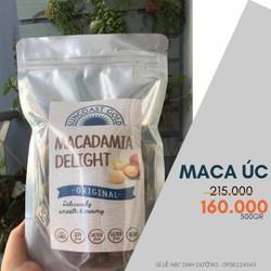 Hạt Macca Úc hàng chuẩn date mới 500gr - Bao đổi trả