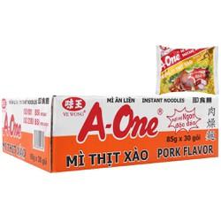 Thùng 30 gói A-One thịt xào 85g