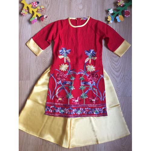 áo dài cho bé gái