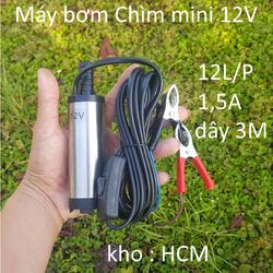 bơm nước mini 12V - máy bơm nước mini 12V