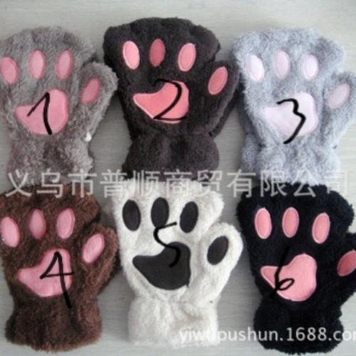 găng tay gấu xỏ ngón