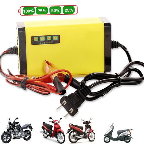 Bộ sạc bình ắc quy xe máy 12V-2AH-20AH hiển thị điện áp - 7887748 , 14209177 , 15_14209177 , 198000 , Bo-sac-binh-ac-quy-xe-may-12V-2AH-20AH-hien-thi-dien-ap-15_14209177 , sendo.vn , Bộ sạc bình ắc quy xe máy 12V-2AH-20AH hiển thị điện áp