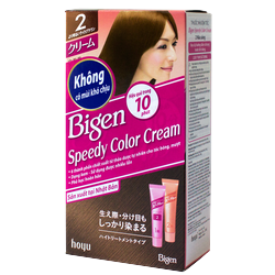 Thuốc nhuộm tóc Bigen Speedy Color Cream 80ml