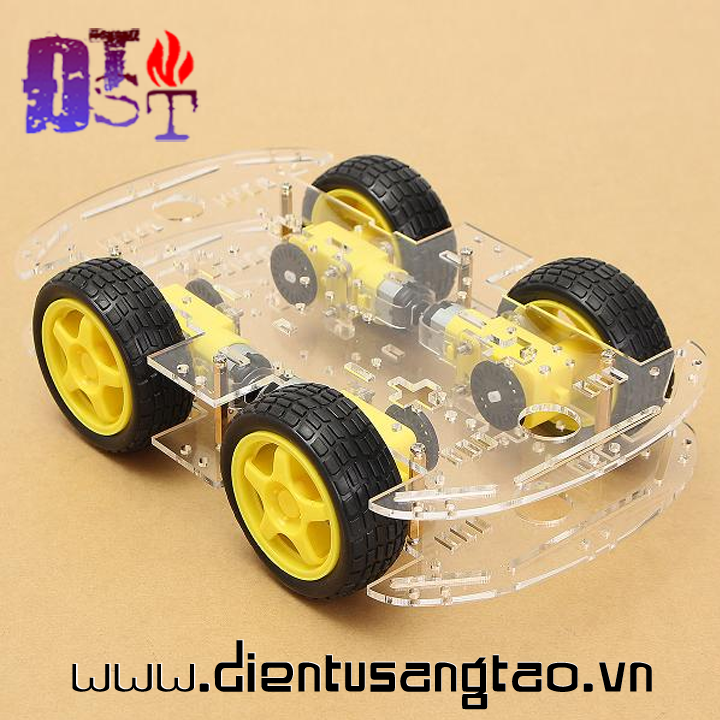Khung Xe Robot 4WD