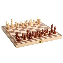 Bộ cờ vua và bàn cờ bằng gỗ tự nhiên cao cấp