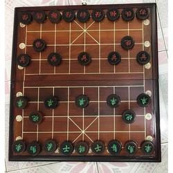 bộ bàn cờ tướng gỗ trắc vip