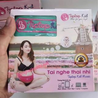 [TẶNG file thai giáo+album nhạc] TAI NGHE THAI NHI TIPTOPKID - TAI NGHE BÀ BẦU - TNTN thumbnail