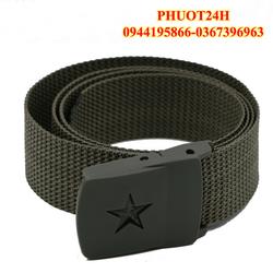 Thắt lưng Lính- thắt lưng chiến thuật dây dù - dây nịt lính khóa nhựa