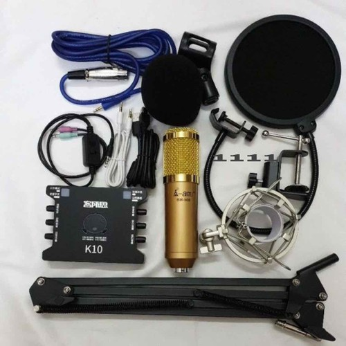 bộ lai chim thu âm livestream sound card k10  mic bm900 chân kẹp màng loc dây live ma2 đủ phụ kiện kèm theo - 4665179 , 16008683 , 15_16008683 , 1111000 , bo-lai-chim-thu-am-livestream-sound-card-k10-mic-bm900-chan-kep-mang-loc-day-live-ma2-du-phu-kien-kem-theo-15_16008683 , sendo.vn , bộ lai chim thu âm livestream sound card k10  mic bm900 chân kẹp màng loc