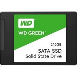 SSD 240GB 2.5 SATA3  Read 540MBs Write 465MBs  Green, WDS240G2G0A