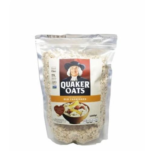 Combo 2kg Yến mạch Quaker Oats cán mỏng