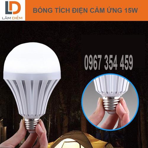 Bóng đèn LED Bulb tích điện thông minh -15 W