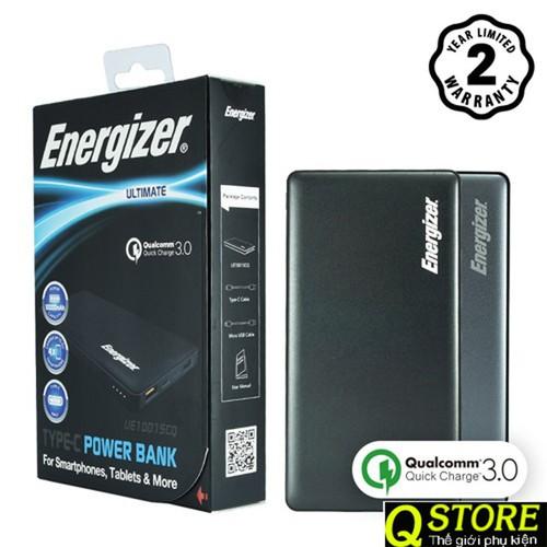 PIN SẠC DỰ PHÒNG ENERGIZER UE10015CQ 10000MAH QC 30 USB-C