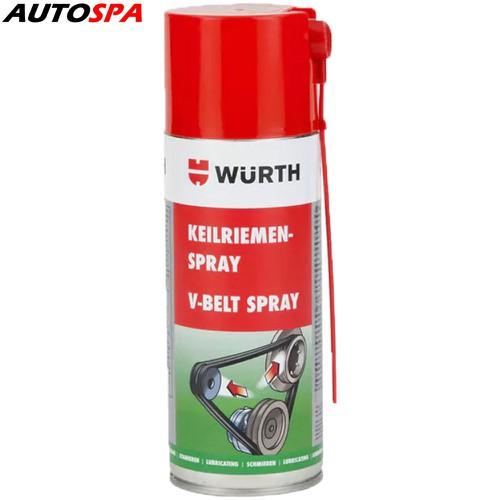 Dung dịch bảo dưỡng dây curoa Wurth V-Belt Spray 400ml