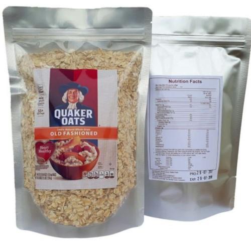 Combo 5kg yến mạch Quaker oats cán mỏng