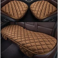 Bộ 5 ghế lót ô tô siêu mền mại,chất liệu simili nhung,phù hợp mọi loại xe 111